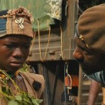 "Abraham Attah and Idris Elba in ""Beasts of no Nations"""