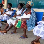 Mothers AT Sege Health Centre