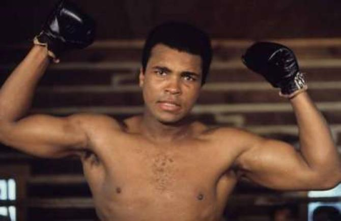 MUhammad Ali was a 3-time heavyweight champion of the world