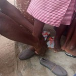 National Youth Authority distribute footwears to Ada school children7