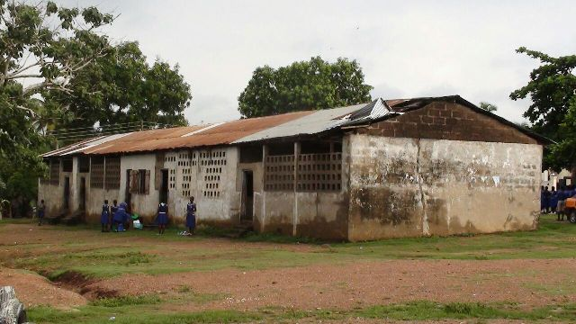 The Kpong Presby Basic School has not seen any renovation since it was built some 62 years ago