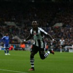 Delight - Atsu opened the scoring for Newcastle after just three minutes