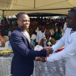 Dogboe receives a special award of recognition at 2016 Hogbetsotso festival