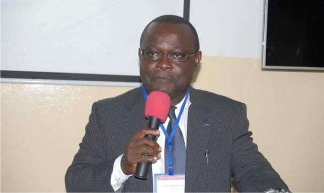 Vice Chancellor of University of Ghana -  Prof. Ebenezer Oduro Owusu