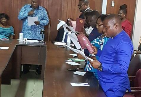 Greater Accra Minister swears-in endorsed DCEs