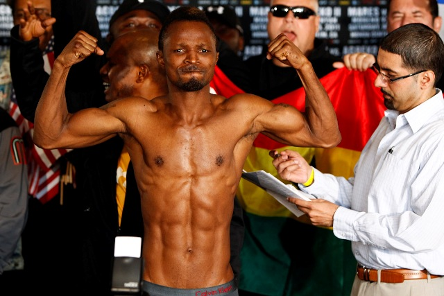 Joseph Agbeko - faces Nick Otieno at Bukom Boxing Arena on June 9