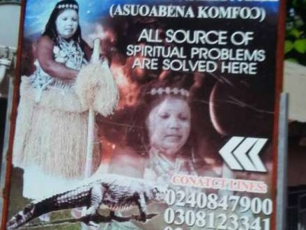 Fetish priestess arrested for recruiting young girls into prostitution