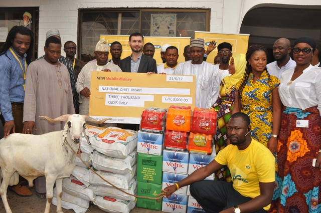 MTN donate to Chief Imam