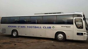 Aduana Stars also unveieled new bus