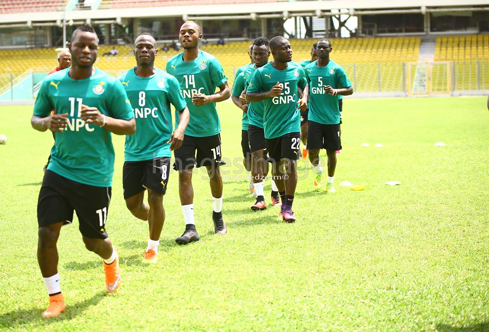 The Black Stars face Uganda in Tamale on match day one of African 2018 World Cup qualifying stage 2