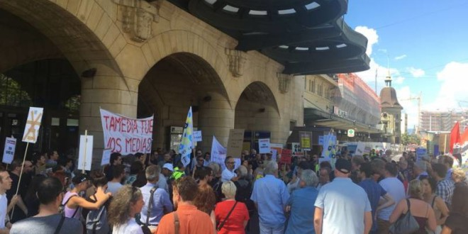 Switzerland: Journalists at Tamedia embark on strike in protest of unfair treatment and job cuts