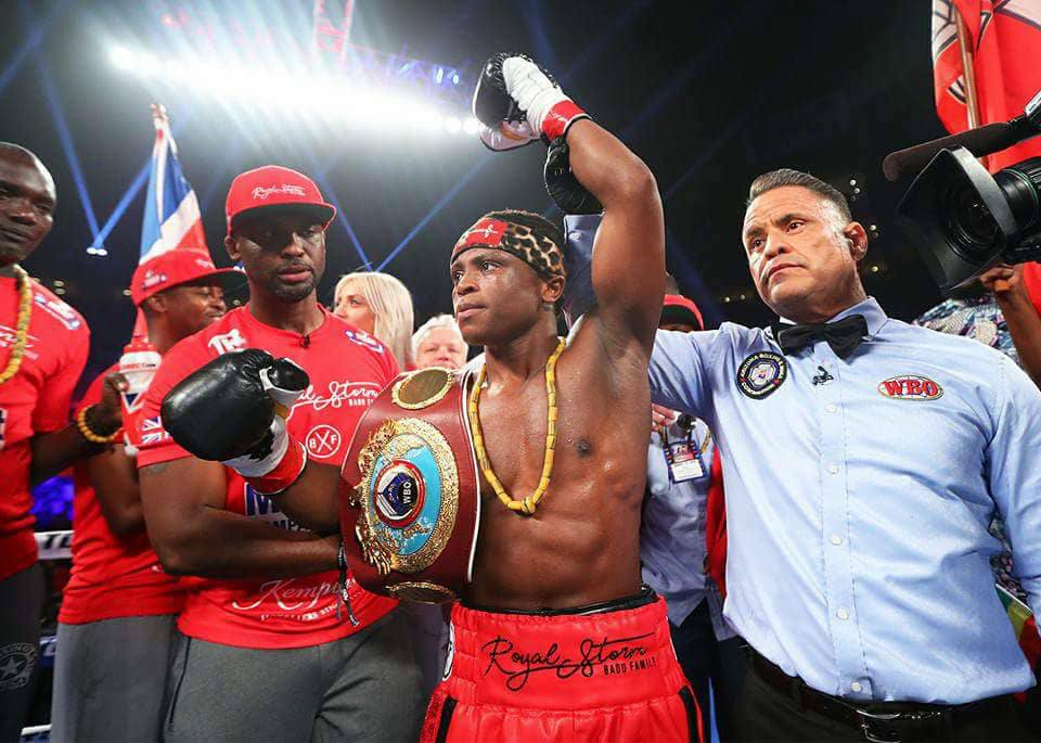 Isaac Dogboe destroyed Hidenori Otake of Japan to defend his world title on Saturday