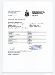 Kwabena-Owusu-Adjei-medical-report
