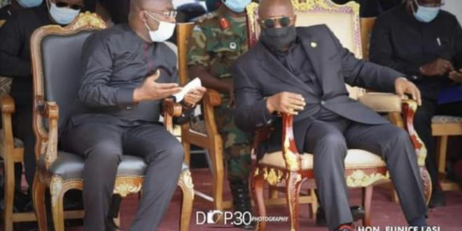 President, Vice mourns with Divine Agorhom
